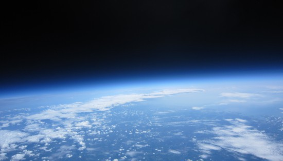 Jorden från ovan, bild från 30000m.se